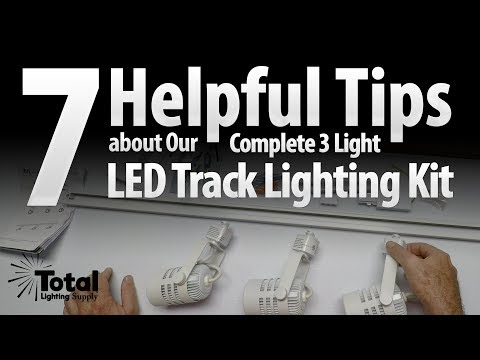 7 Helpful Tips about Our Complete 3 Light White LED Track Lighting Kit