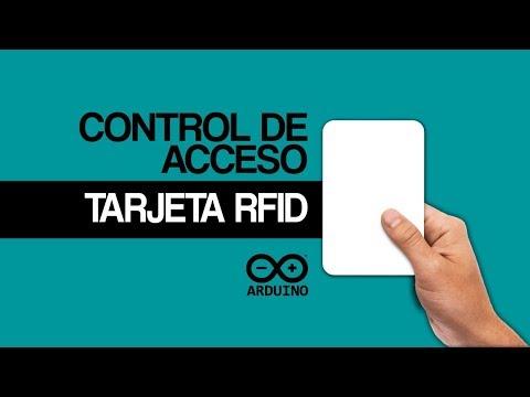 ARDUINO RFID RC522  ▌Control Cerradura Electrica  ▌Lector -Tarjeta - Llavero ▌