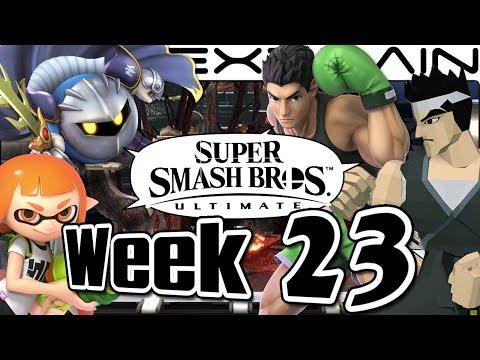 Smash Bros Ultimate Update: Banner Trailer, Meta Knight, Lil' Mac, Poké Stadium & Seaskape - Week 23
