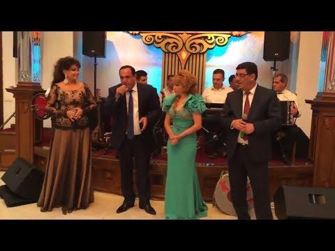 Manaf Ağayev, Elnarə Abdullayeva, Nazpəri Dostəliyeva, Məqsəd Aranlı - Muğam (Toy 2016)