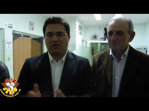 Deputado Estadual Rodrigo Moraes Dem visita o Hospital de Juquitiba com o Vereador Marciano e o Prefeito Ayres Scorsatto