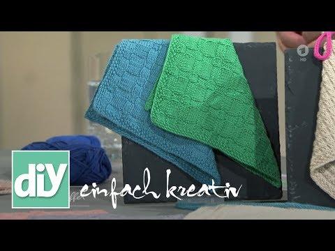 Gestrickte Küchentücher | DIY einfach kreativ