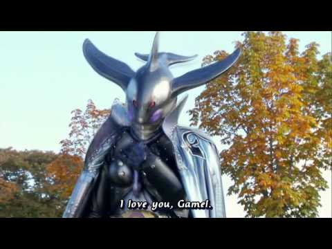 Kamen Rider OOO Clip-Mezool, Gamel Become 1