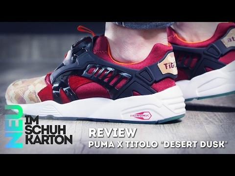 """Atmos x Titolo x Puma Disc Blaze """"Desert Dusk""""  Review"""