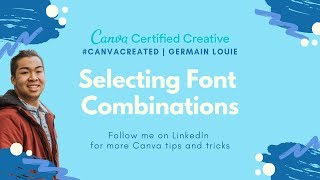 Canva Created Tutorial: Identifying Font Combinations