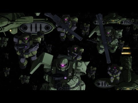 《機動戰士鋼彈 THE ORIGIN 激戰魯姆會戰 》第二彈預告