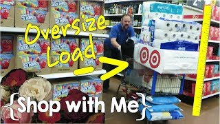 Our Tallest Cart Yet? ║ Large Family Shop with Me │ May 2019