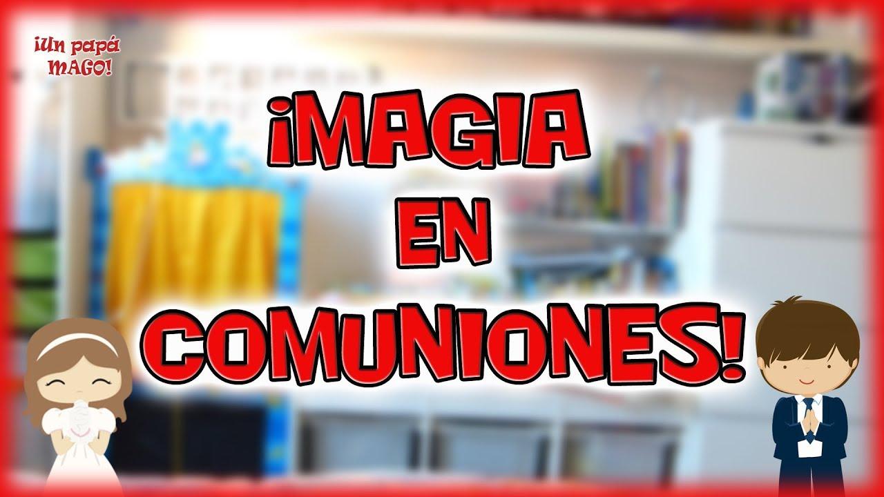 MAGIA EN COMUNIONES | UN PAPÁ MAGO EN TU COMUNIÓN | TRUCOS DE MAGIA |Is Family Friendly