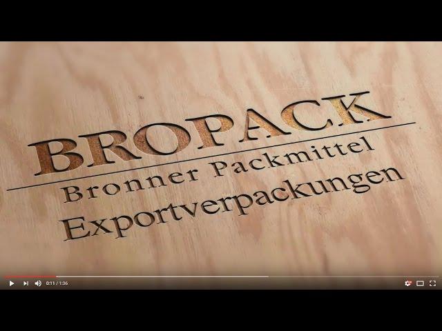 BROPACK Exportverpackungen