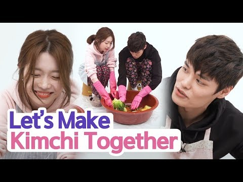Let's Make Red Hot Spicy Kimchi With 4 Men [Flower Boyz 2] • ENG SUB • dingo kbeauty