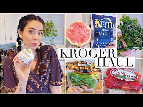Healthy Kroger Grocery Haul!