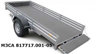 МЗСА 817717 - Снегоходный прицеп. Кузов 3,5*1,5м. ЦЛП АРИВА.