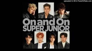 Gambar cover SUPER JUNIOR E.L.F JAPAN LIMITED 『On and On』