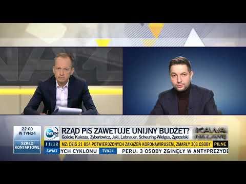 Patryk Jaki w TVN24: Premier Oszukuje xD