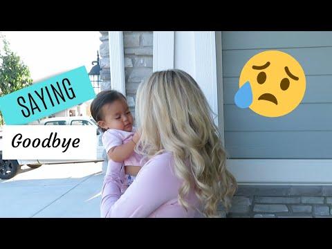 Saying Goodbye to my Sister | Emotional