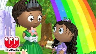 Super Why | Full Episodes | Story Time With Rainbow Princess | Cartoons For Kids