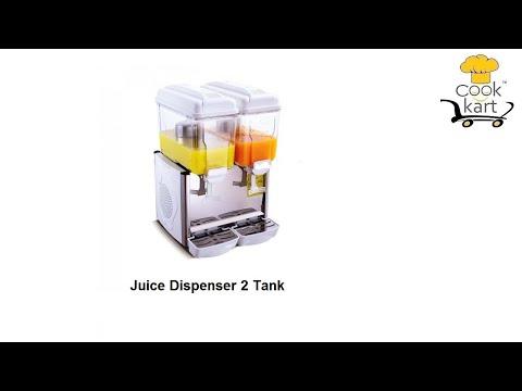 2 Tank Juice Dispenser