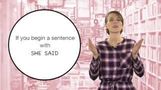 Everyday Grammar: Quoted Speech