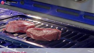 LG Range - How to Use the Broiler Feature