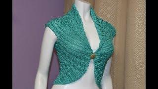 Bolero Crochet Fácil Paso A Paso