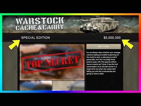 GTA 5 Online Has A TOP SECRET Vehicle You NEED To Know About That Rockstar Is Hiding In The Game!