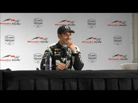 2019 IndyCar Toronto post-race Q&A
