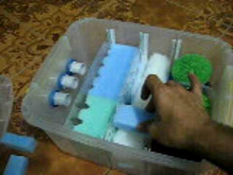 Alguien sabe como hacer un filtro casero para tortugas for Estanque tortugas casero