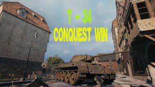 T-34 한대도 안맞고 점령승리!!