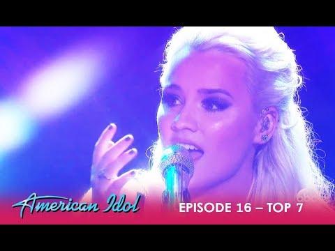 Gabby Barrett: WOWS The Judges With Emotional Performance   American Idol 2018