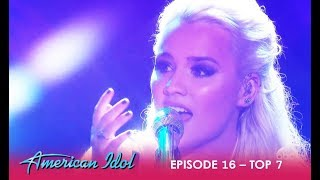 Gabby Barrett: WOWS The Judges With Emotional Performance | American Idol 2018 - Video Youtube