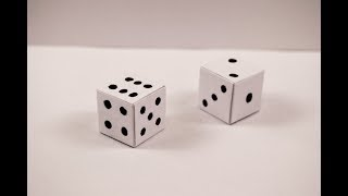 How to make a paper Dice?