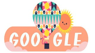 Google Doodle celebrates the beginning of Summer in the Northern Hemisphere  KALYANI PRIYADARSHAN PHOTO GALLERY   : IMAGES, GIF, ANIMATED GIF, WALLPAPER, STICKER FOR WHATSAPP & FACEBOOK #EDUCRATSWEB
