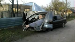 Незрячий за рулем отметил день автомобилиста