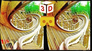 3D Roller Coaster B VR Videos 3D SBS [Google Cardboard VR Experience] VR Box Virtual Reality Video