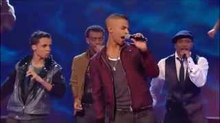 JLS - The Way You Make Me Feel (The X Factor UK 2008) [Live Show 2]