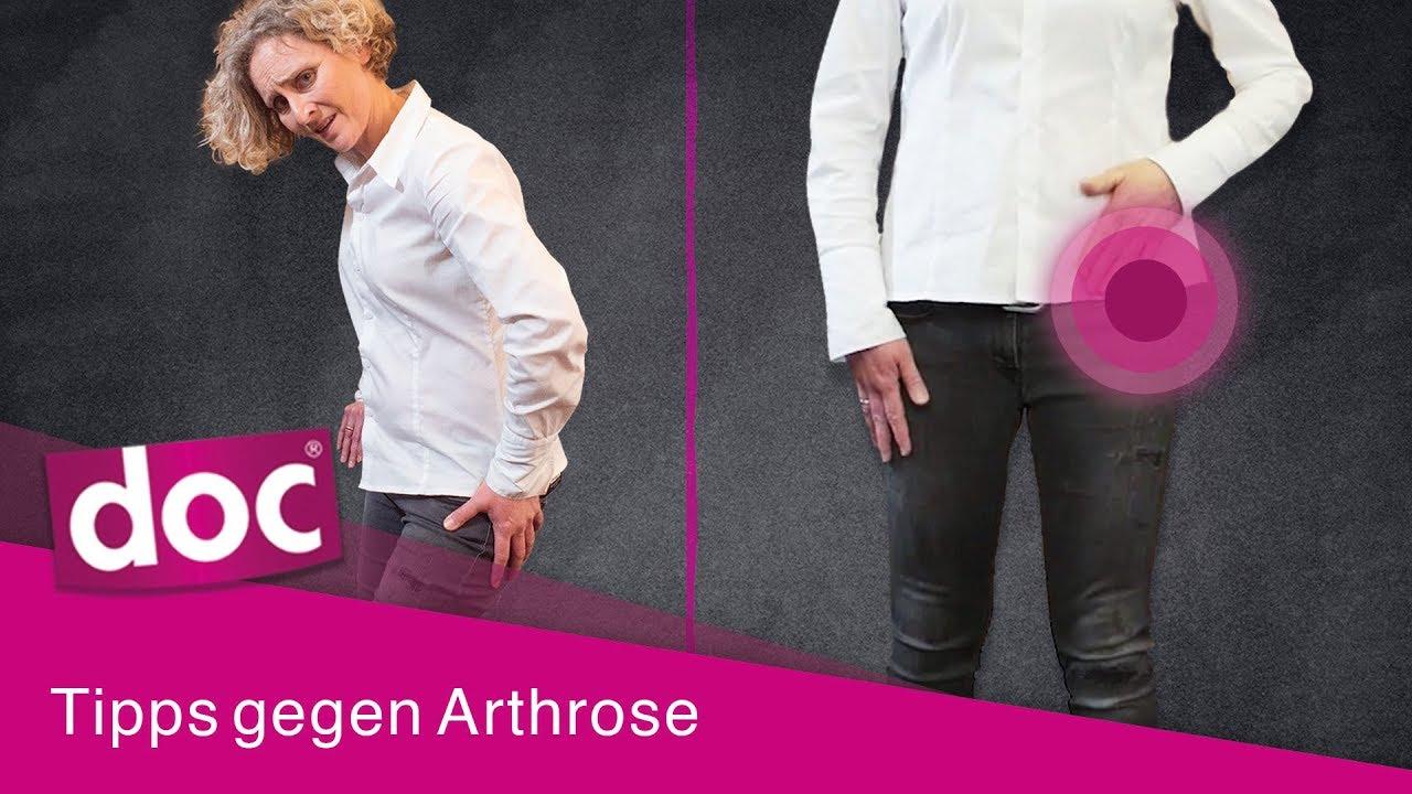 Tipps und Übungen: Arthrose-Schmerzen im Alltag lindern