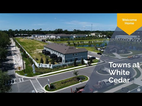 Fall in love with Towns at White Cedar