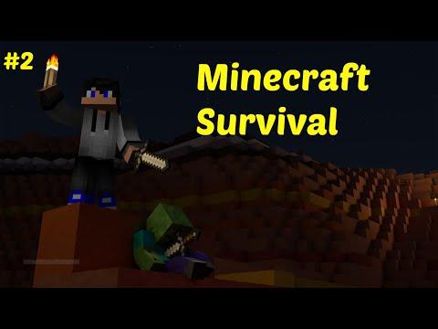 Minecraft | Survival | Ep. 2 | Neúspěšné Hledání