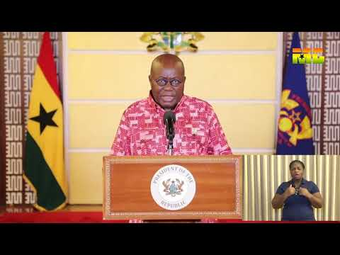 COVID-19: President Akufo Addo No. 6 update on Coronavirus Pandemic