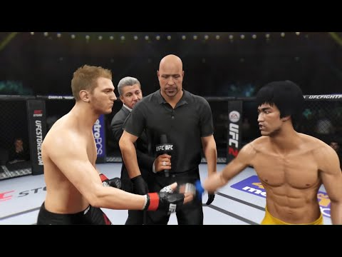 Daniel Hooker vs. Bruce Lee (EA Sports UFC 2) - Rematch (CPU vs. CPU)