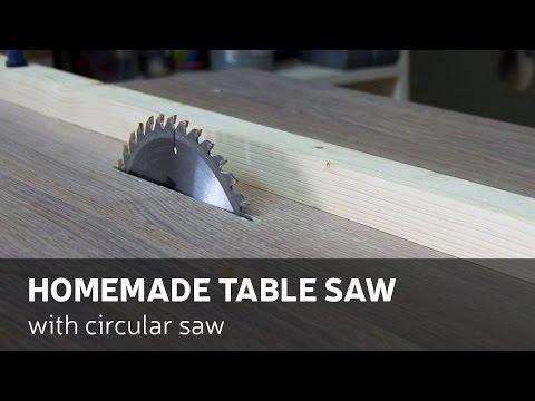 Tischkreissäge bauen - Handkreissäge neu gedacht