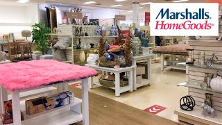 MARSHALLS HOME GOODS HOME DECOR DECORATIVE ACCESSORIES SHOP WITH ME SHOPPING STORE WALK THROUGH