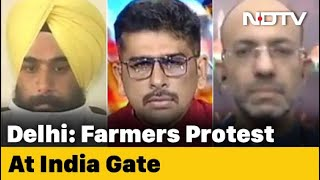 Left, Right & Centre | Farm Bills Protest In The Heart Of Delhi - Download this Video in MP3, M4A, WEBM, MP4, 3GP