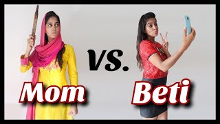 Mom Vs Daughter | Rickshawali