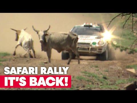 The Safari Rally Kenya Returns to the Calendar   WRC 2021