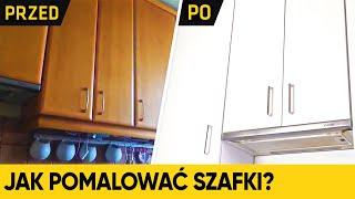 Odmień całkowicie swoją kuchnię. Jak pomalować szafki?