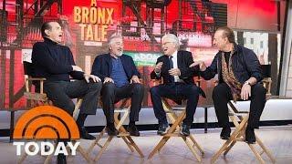 Robert De Niro, Chazz Palminteri Talk About 'Bronx Tale' Musical   TODAY