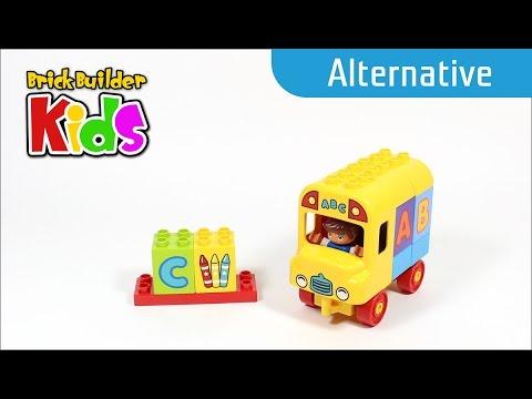 Vidéo LEGO Duplo 10603 : Mon premier bus