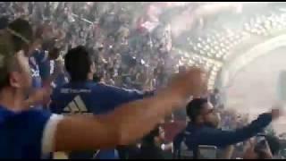 La Hinchada Azul Vence A Carlos Heller - U De Conce Vs U De Chile - 2019