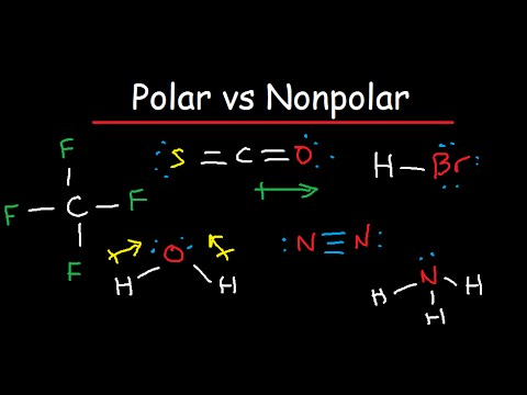 Download Polar And Nonpolar Molecules Is It Polar Or Nonpolar In Mp4 And 3gp Codedwap